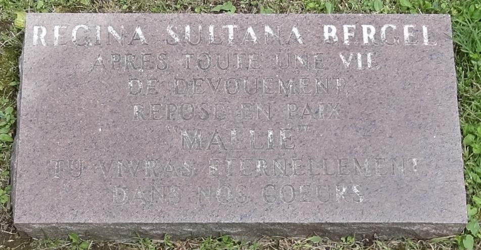 Regina Sultana LAREDO BERGEL (1896 - 2000)